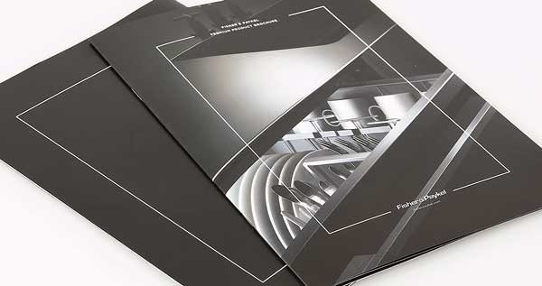 A4 Brochure print for Fisher & Paykel