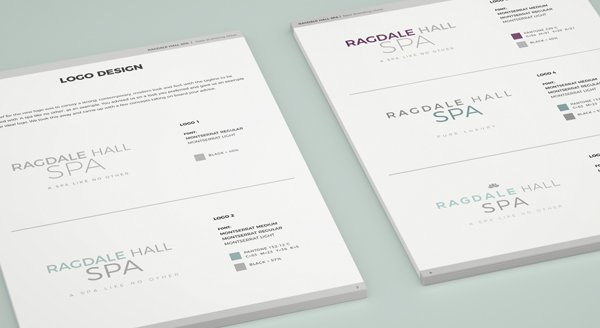 Logo creation - Ragdale Hall