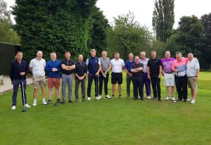 annual golf day full players photograph